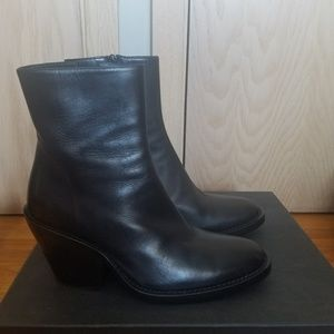 Ann Demeulemeester Black Ankle Boots NEW size 38